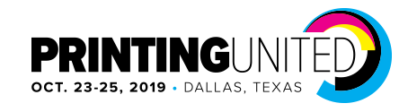 Printing United 2019 (Dallas, Texas)